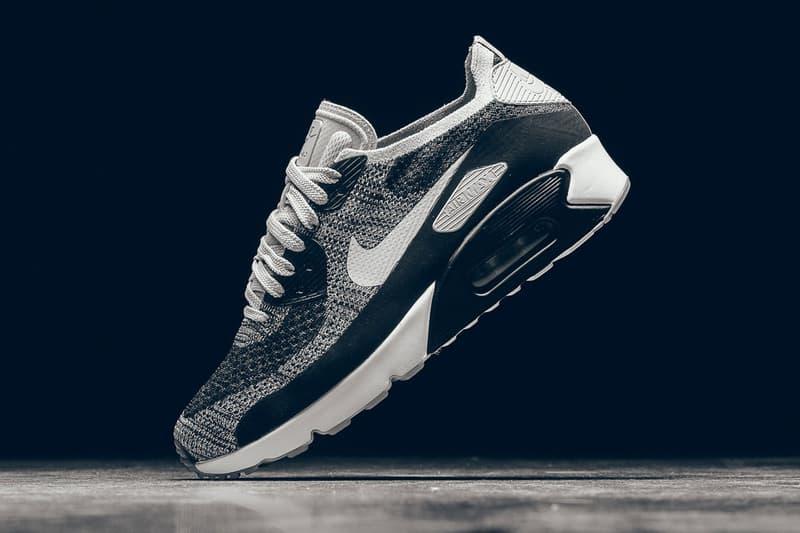grand choix de d7daa 28580 Nike Air Max 90 Ultra 2.0 Flyknit Black & White | HYPEBEAST