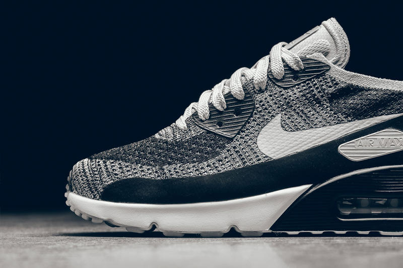 huge selection of 20c16 d0b29 Nike Air Max 90 Ultra 2.0 Flyknit Black & White | HYPEBEAST