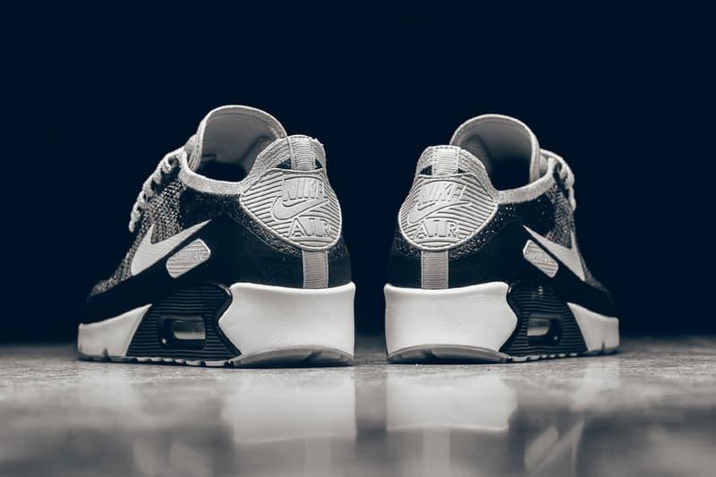 Nike Air Max 90 Ultra 2.0 Flyknit Black & White