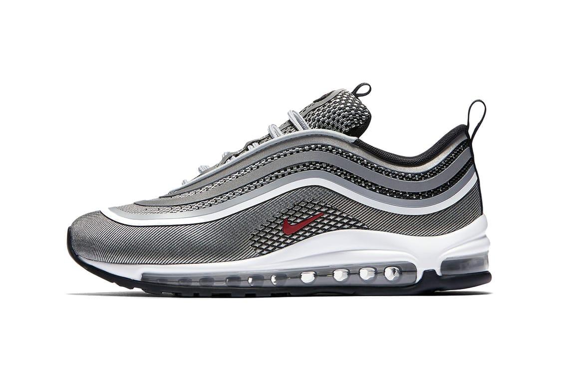 nike air max 97 silver black