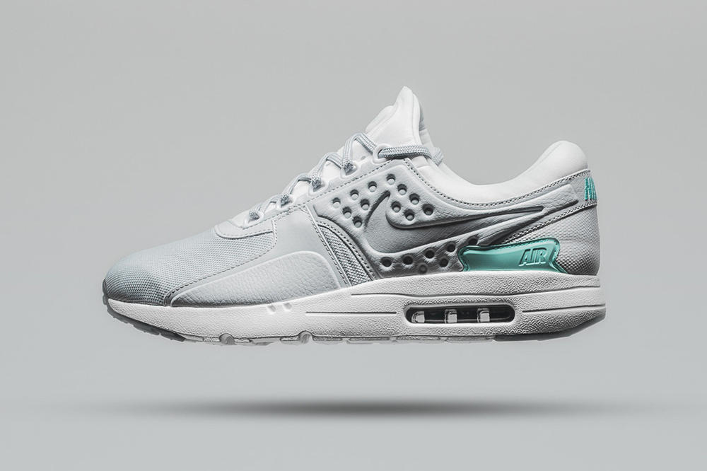Nike Air Max Zero Pure Platinum Wolf Grey Sneakers Footwear Shoes Tinker Hatfield 2017 July Summer Release Info