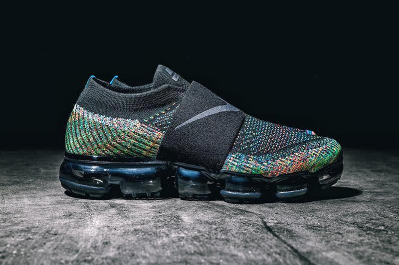 d09acf811b Nike Air Vapormax Laceless Multicolor First Look Shoes Sneakers Footwear  2017 Preview
