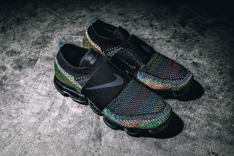 Nike Air Vapormax Laceless Multicolor First Look Shoes Sneakers Footwear 2017 Preview