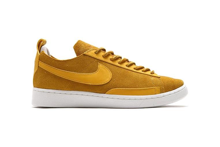 Nike Blazer Low Triple Pack Yellow Gold Blue Pink