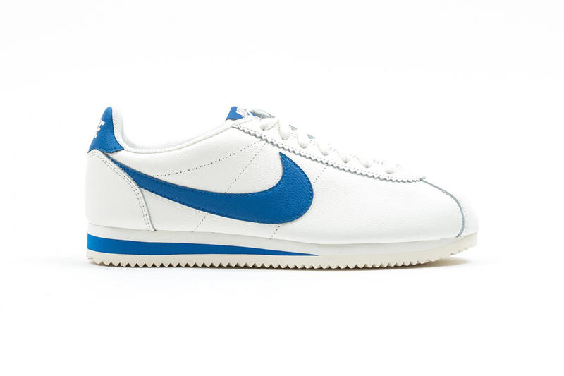 new concept 703a4 c8432 Nike Classic Cortez Leather SE Blue Jay Sail 45 Anniversary