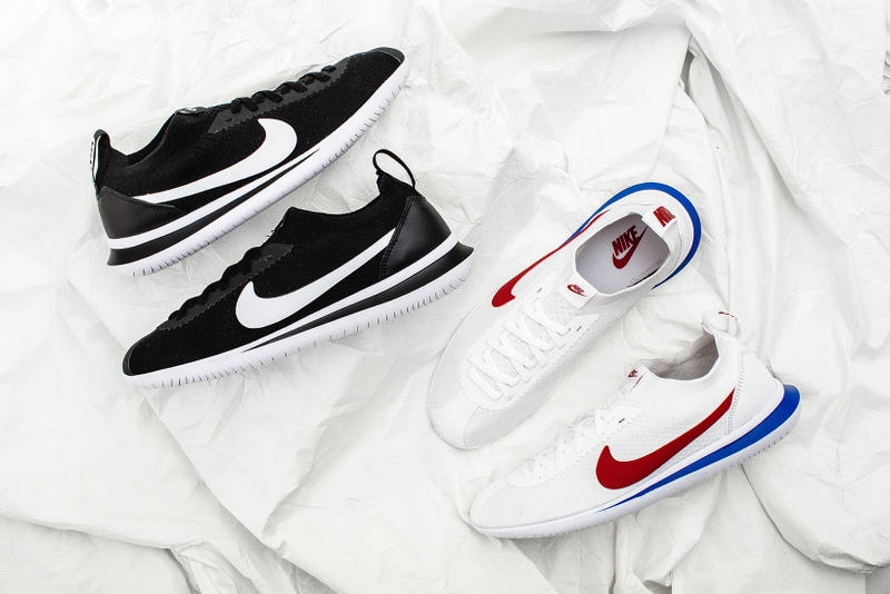9946919353a4 Nike Cortez Flyknit Release Date Info Black White Sneakers Footwear Shoes  2017 July