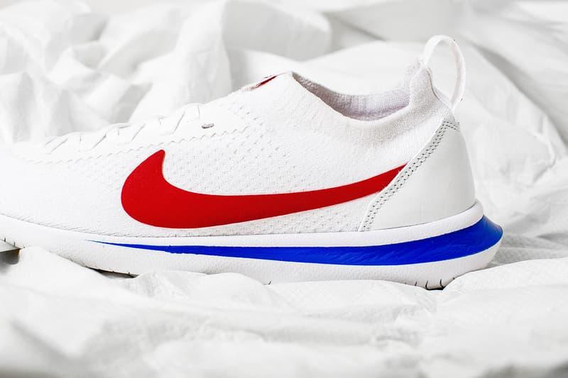 Nike Cortez Flyknit Release Date Info Black White Sneakers Footwear Shoes 2017 July