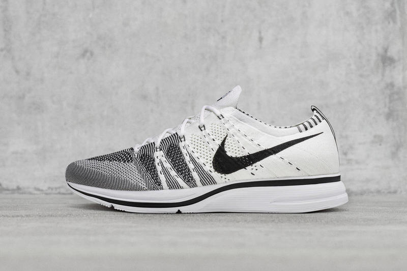 35c3cf003998f Nike Flyknit Trainer White Black Release Info Shoes Sneakers Footwear 2017  July 27 Titolo