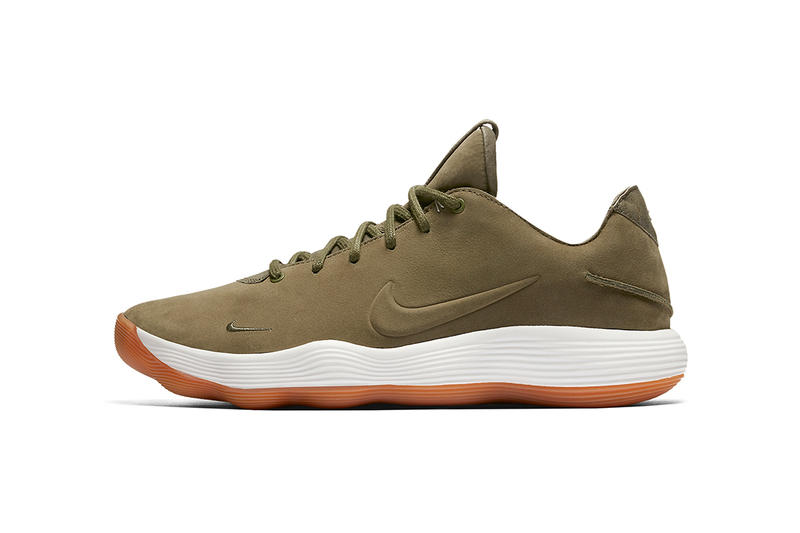 Nike Hyperdunk Low 2017 Premium Olive Gum Sneakers Footwear Shoes 2017 Summer Release Date Info luxe luxury sude