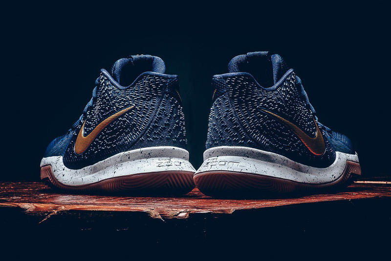 Nike Kyrie 3 Obsidian Metallic Gold Kyrie Irving Cleveland Cavaliers