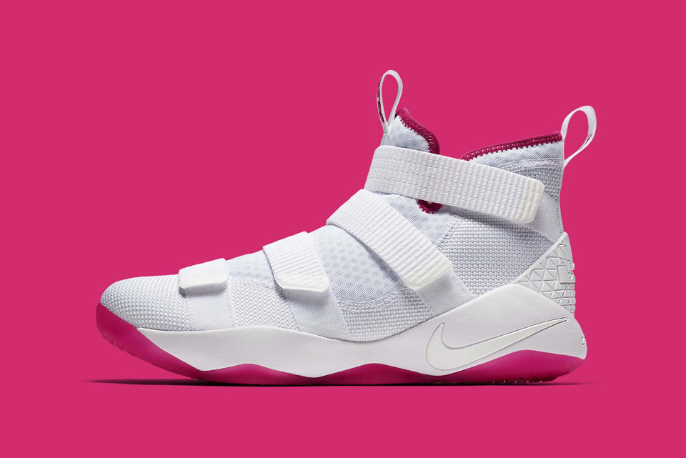 f9f26846f39b Nike Continues Efforts to Raise Breast Cancer Awareness with LeBron Soldier  11 EP