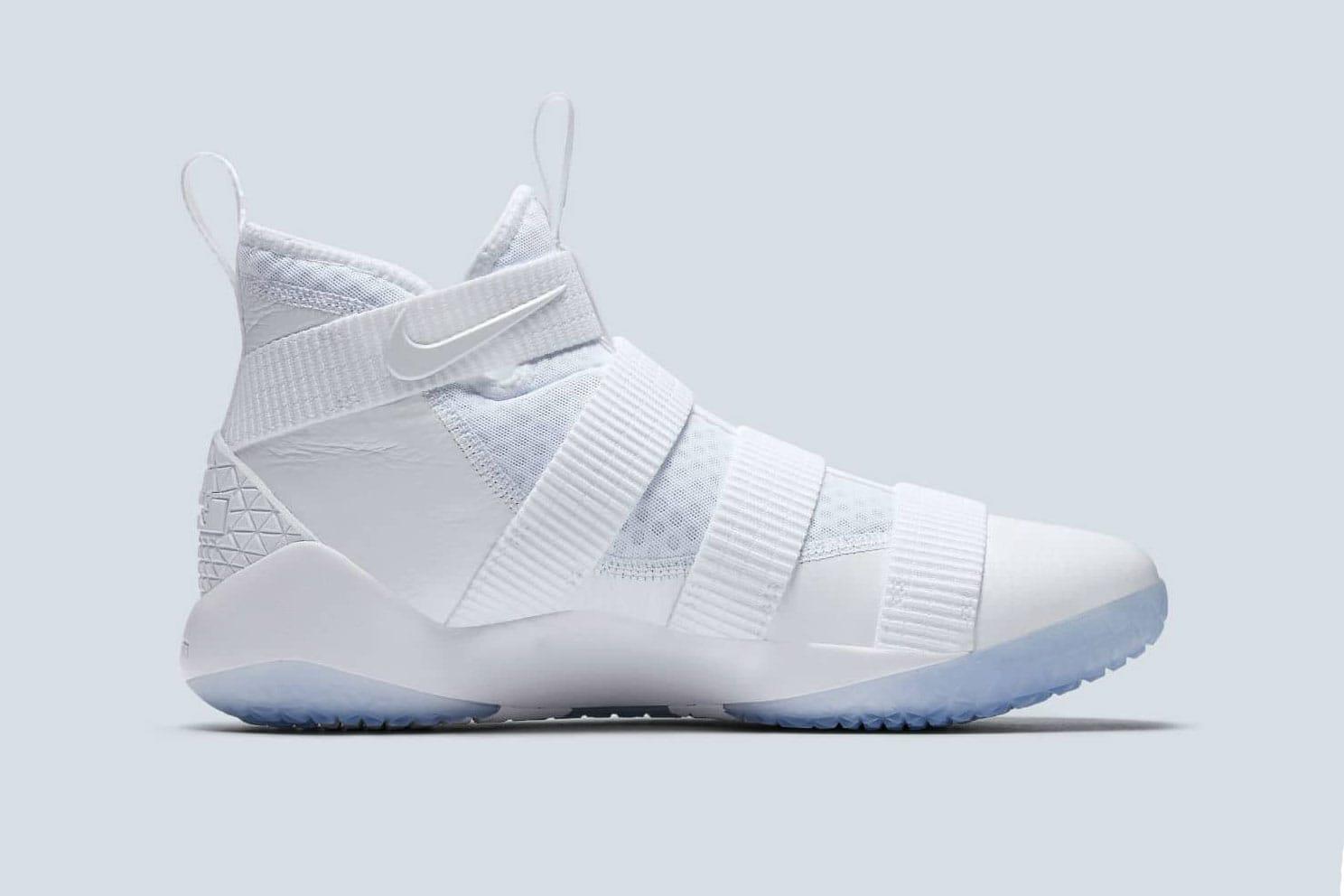 Nike LeBron Soldier 11 Triple White