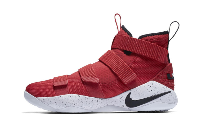 online store 412e9 844ee Nike LeBron Zoom Soldier 11 University Red