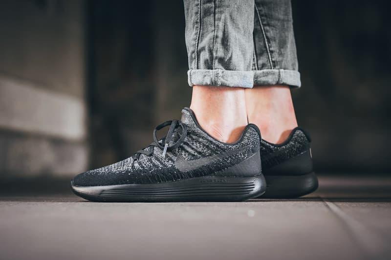 5573e683821 Nike LunarEpic Flyknit Low 2 Black Dark Grey