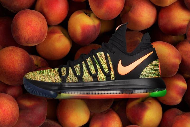 Nike KD 10 Peach Jam Exclusive