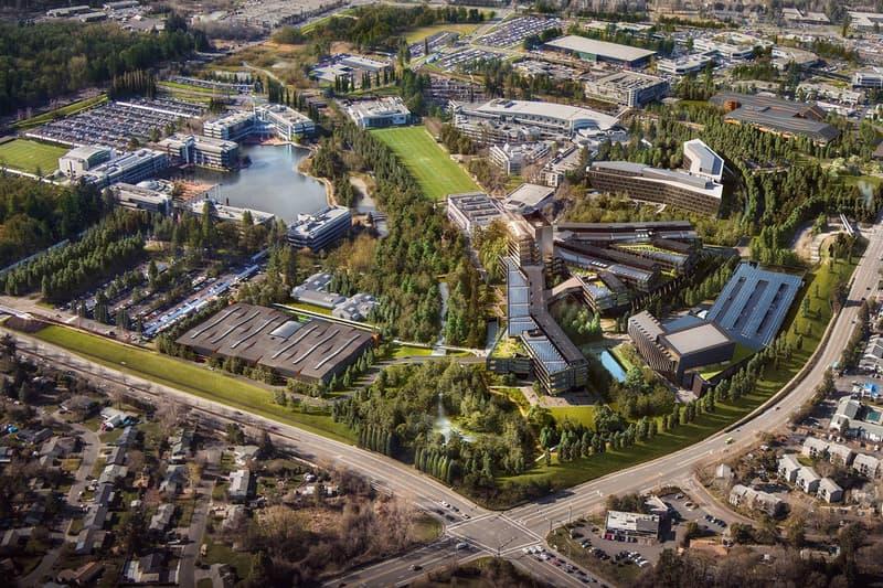Nike Oregon Headquarters Expansion 1 Billion USD Cost Beaverton 3 2 Million Square Foot Building Portland