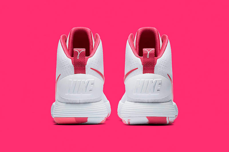 "Nike React Hyperdunk ""Kay Yow"" 2017 Colorway Cancer Awareness Fund"