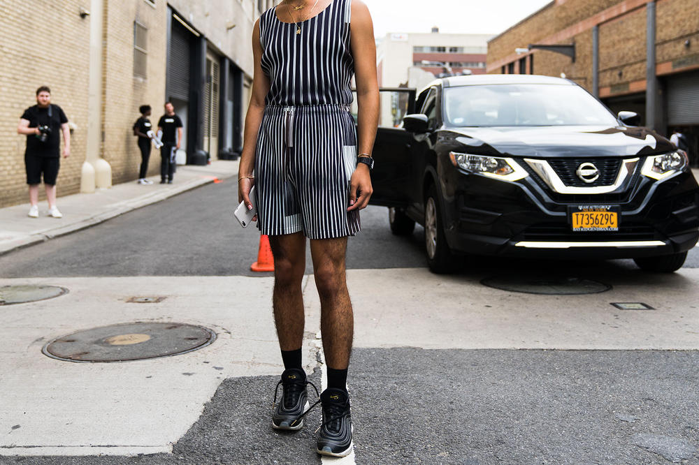 New York Fashion Week Mens Street Style Day 2 Streetsnaps Fashion