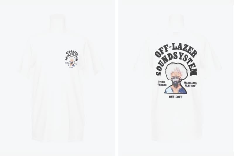 Off-White Major Lazer Off Lazer T shirt colette