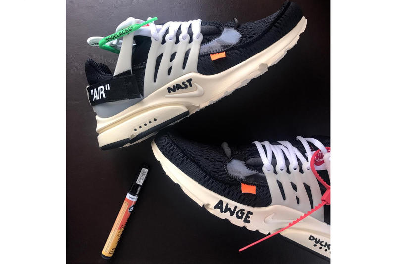 A Very First Look at the Off-White™ x Nike Air Presto
