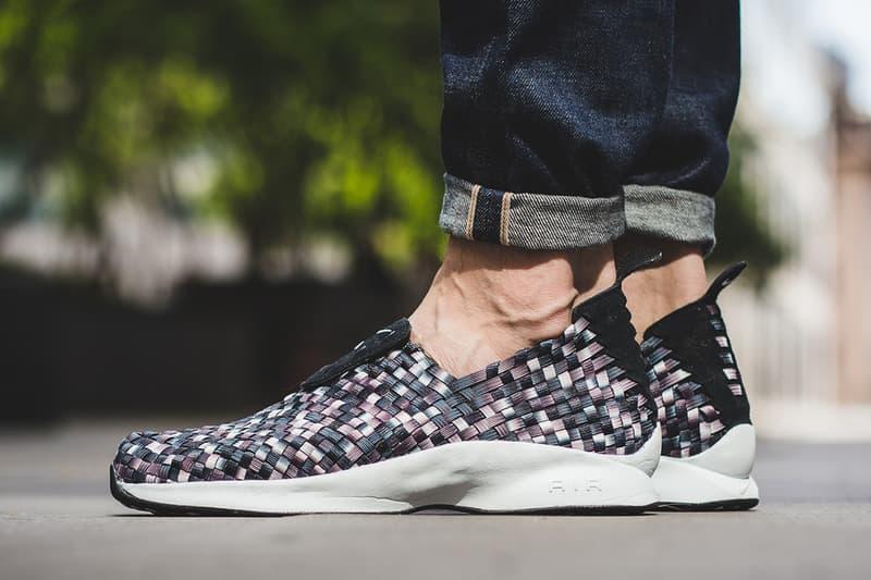 new style a267a 4d31f An On-Feet Look at the Nike Air Woven