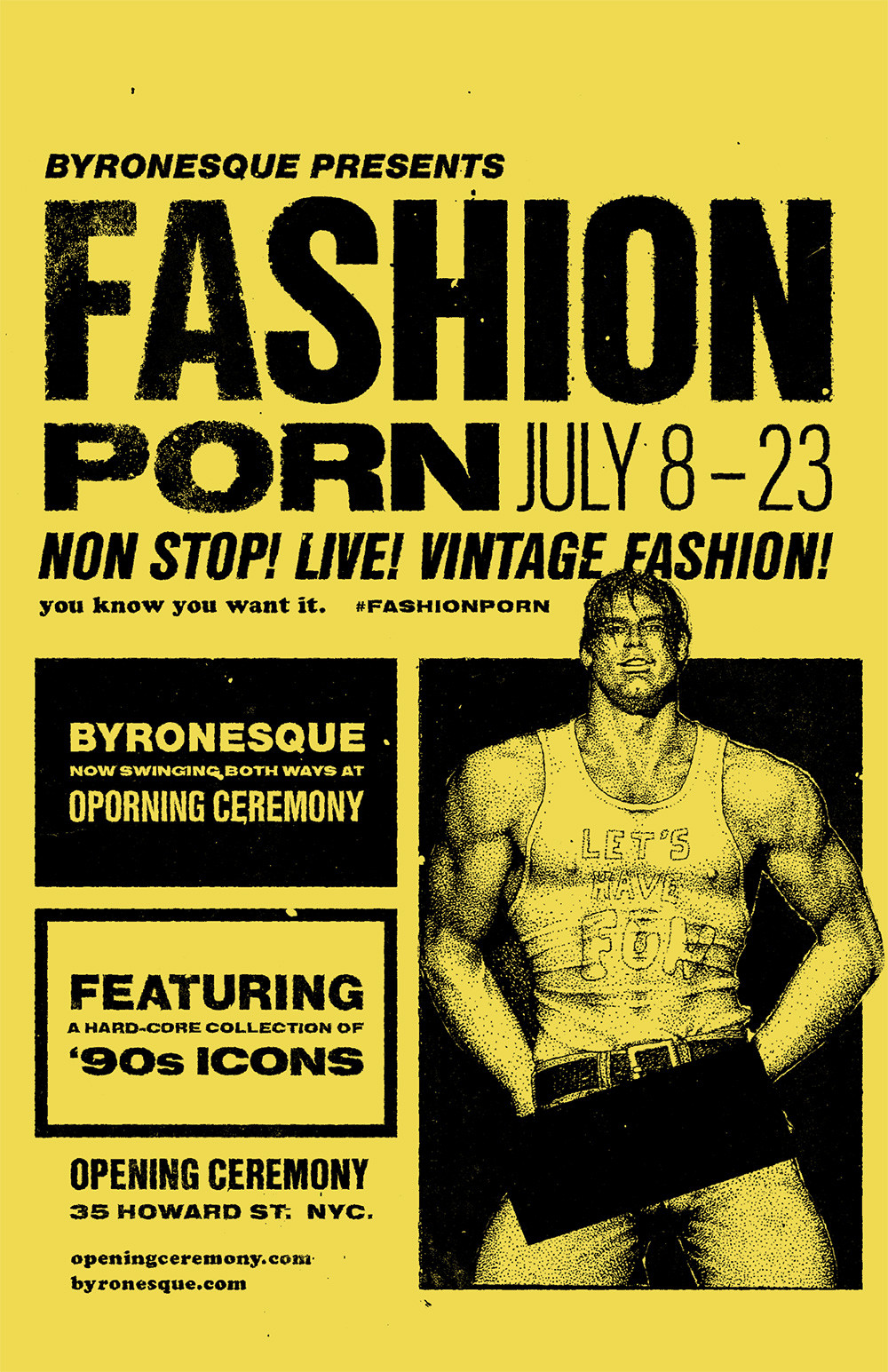 Byronesque Opening Ceremony Pop-Up Event