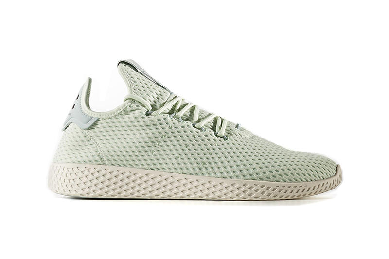 71aee564d Pharrell x adidas Tennis Hu Pastel Release Date