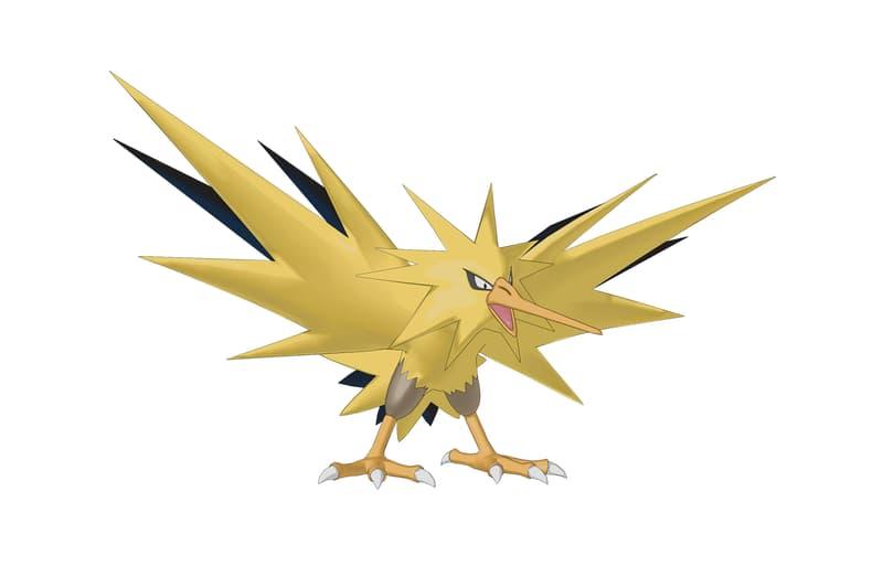 Pokémon GO Moltres Zapdos Legendary Release