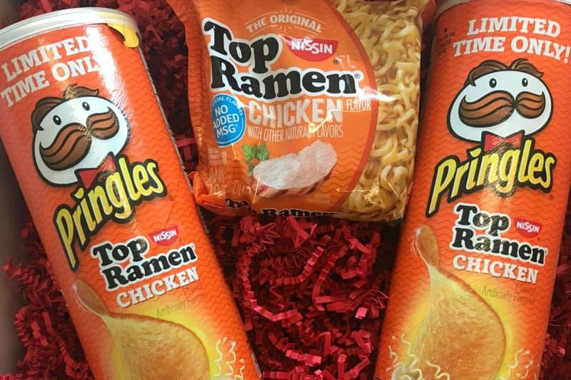 Pringles Ramen Flavored Chips