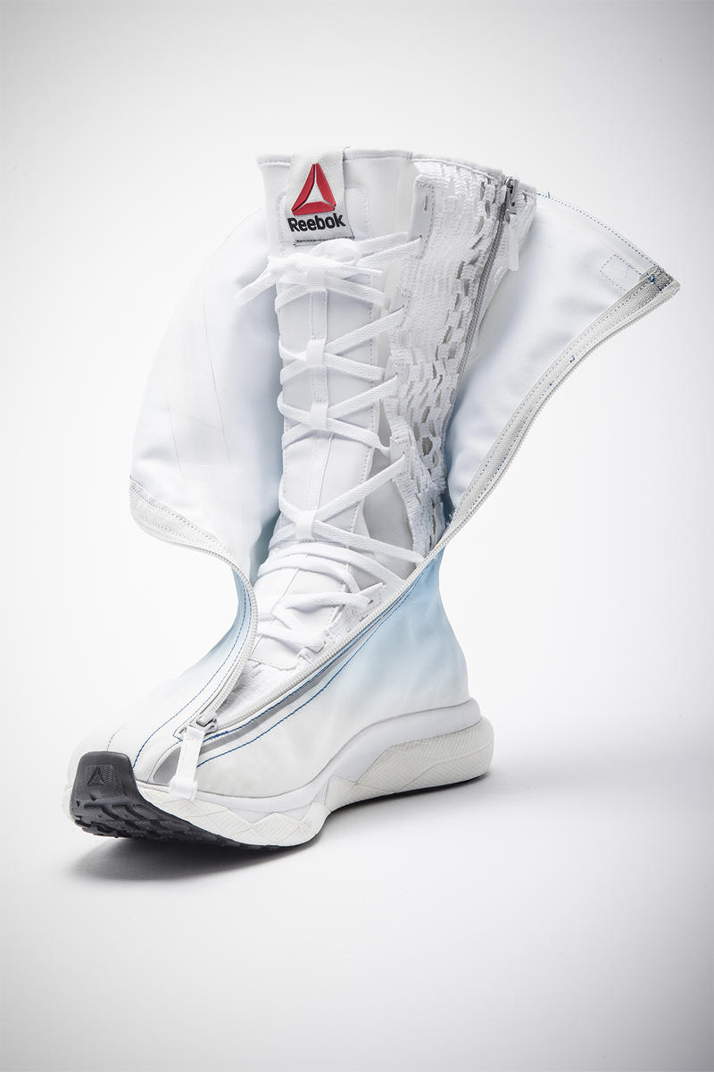 Reebok Floatride Space Boot SB 01 Foam Cushioning Technology David Clark Company Astronaut Space