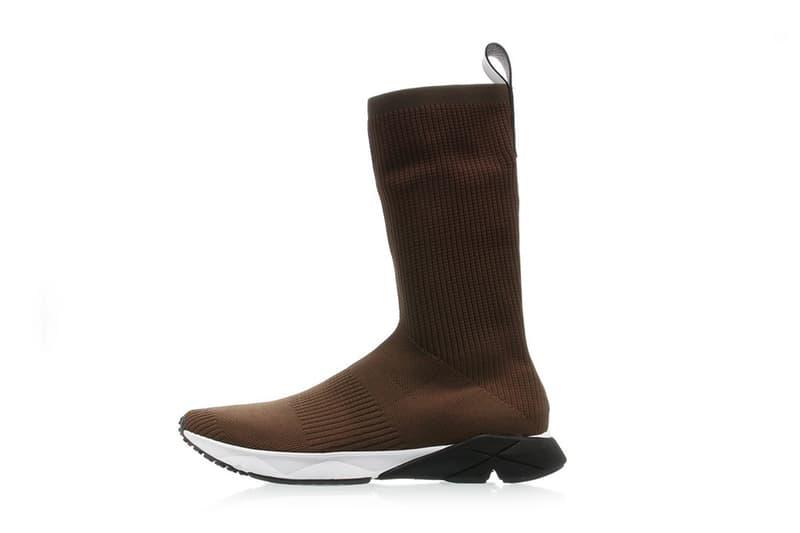 Reebok Sock Runner Ultraknit Brown Colorway Vetements Supreme Black Moss White Sneakers Shoes Footwear 2017 July Release Titolo
