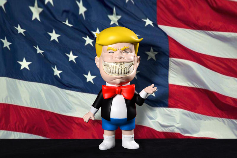 Ron English Make America GRIN Again Tour San Diego Pop Up Donald Trump Popaganda Luce Loft