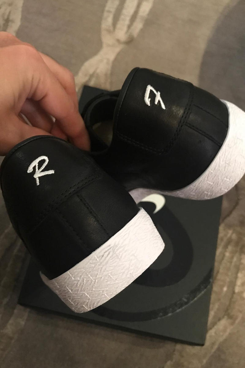 d52b813cf52178 Ronnie Fieg Custom Wedding Nike Blazer Low. 2 of 2