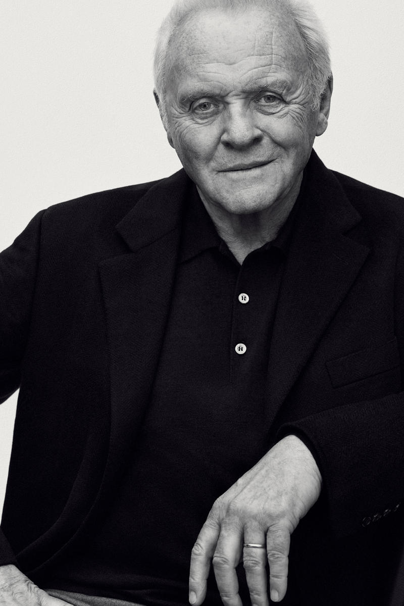 Sir Anthony Hopkins Brioni Campaign Nina-Maria Nitsche Italian Menswear Luxury Suiting Clothing Apparel Accessories Fashion