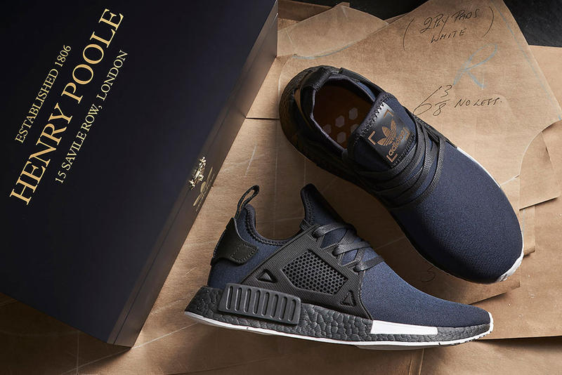 size 40 a6ee5 b3271 size? x Henry Poole x adidas Originals NMD XR1 & NMD R2 ...