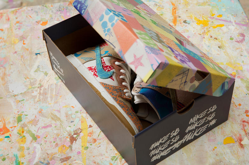 "Thomas Campbell x Nike SB Dunk High Pro ""What The"""