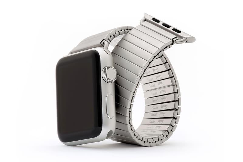 Speidel Twist O Flex Bracelet Apple Watch 2 Smartwatch band stainless steel silver metal