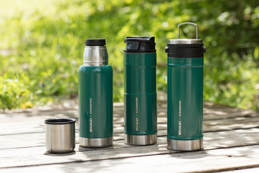 Starbucks Stanley 2017 Summer Collaboration Collection Green Thermos Carafe Cup Tumbler Bottle Travel Press