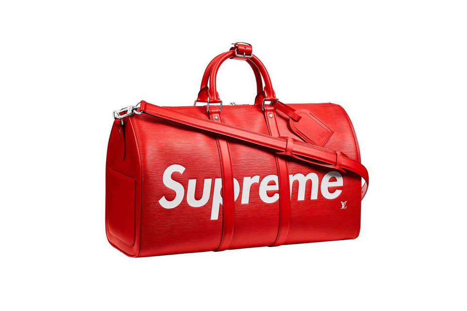 fb29059cc596 StockX Is Giving Away One Supreme x Louis Vuitton Keepall Bag