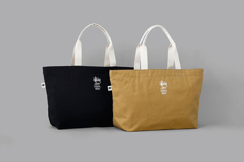 STUSSY Livin' GENERAL STORE BLK PINE Workshop Utility Tote