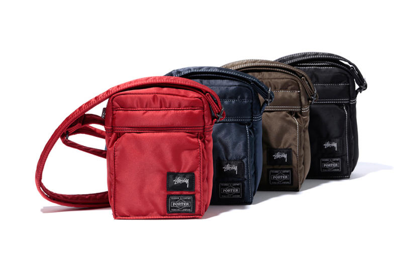 a8990c4f5b Stussy Porter 2017 Summer Collection Bags Duffle Waist Hip Mini Shoulder  Wallet Navy Black Pink Red