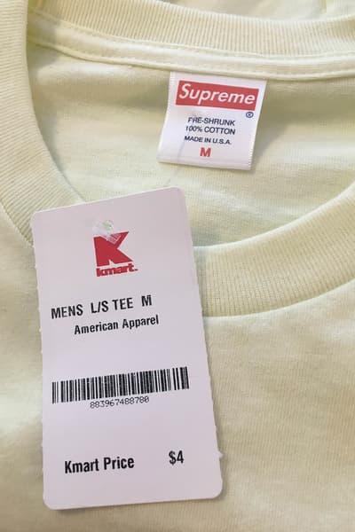 Supreme Blank Tees K-Mart
