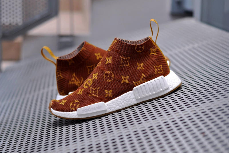 pretty nice 75f59 39bb0 Supreme x Louis Vuitton x adidas NMD CS1 Custom | HYPEBEAST