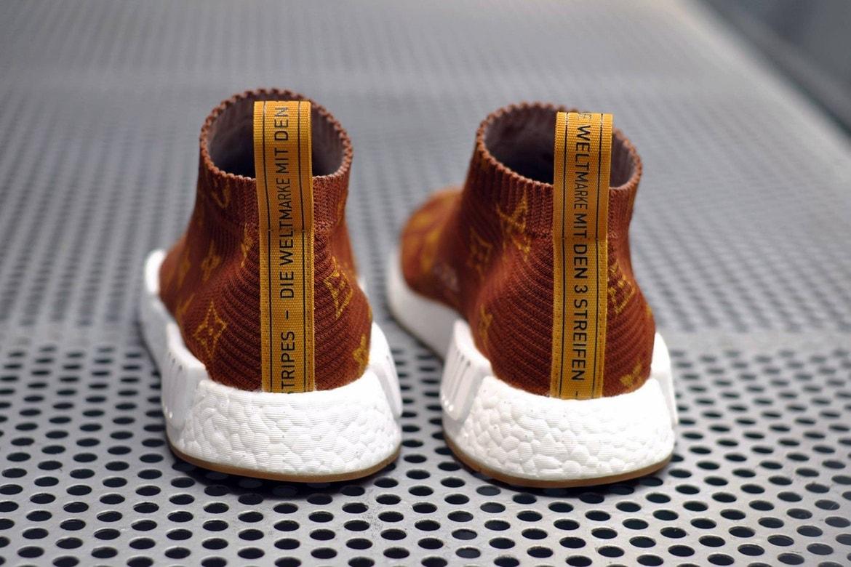 muestra resumen Matrona  Supreme x Louis Vuitton x adidas NMD CS1 Custom   HYPEBEAST