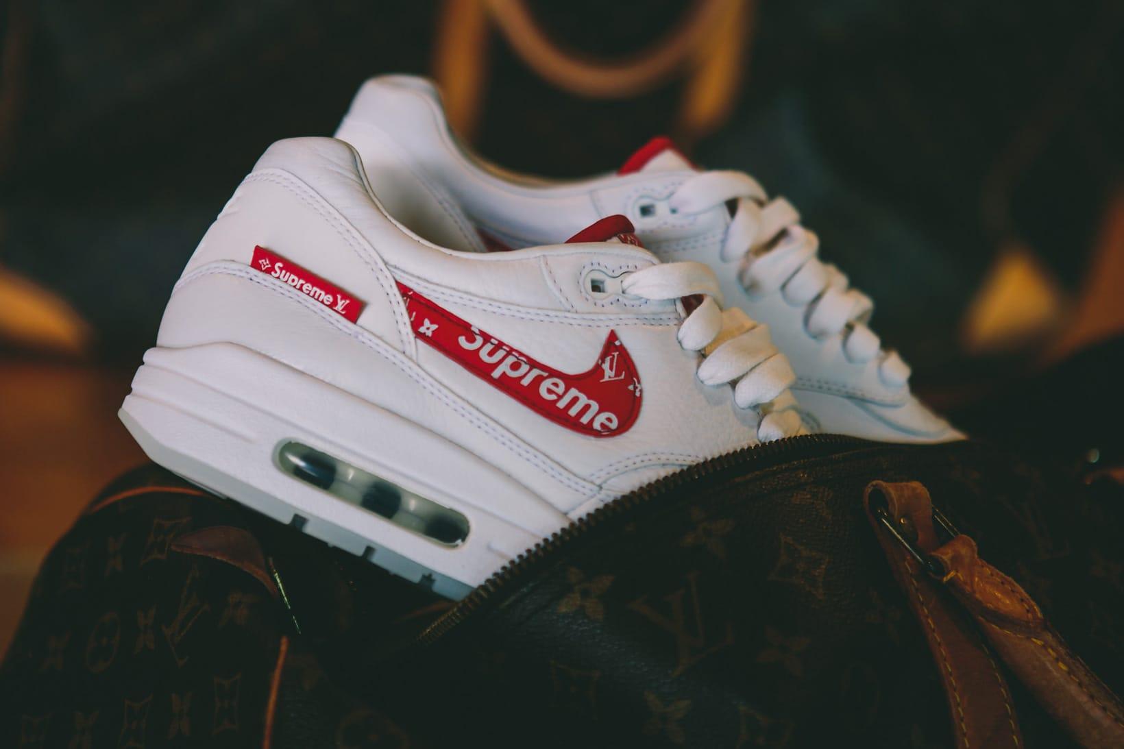 Supreme x Louis Vuitton x Nike Air Max