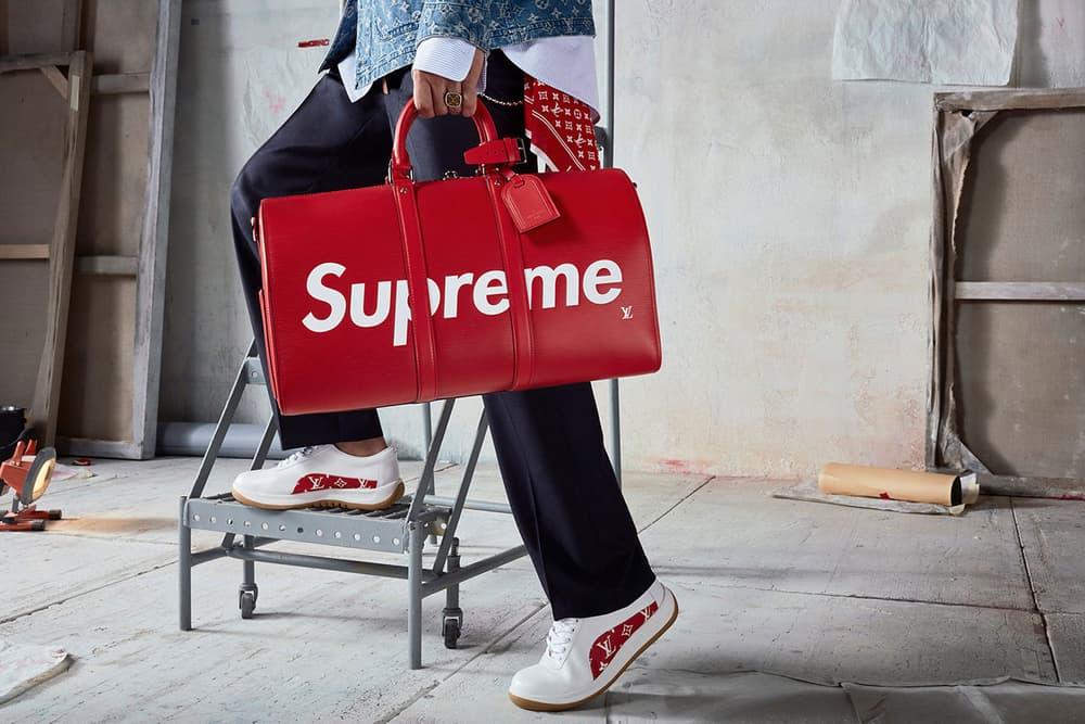 Supreme Louis Vuitton New York City NYC Pop-Up Box Logo Monogram
