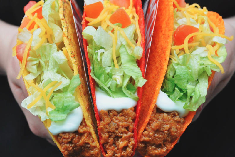 Taco Bell Lyft Taco Mode Orange County California Tacos