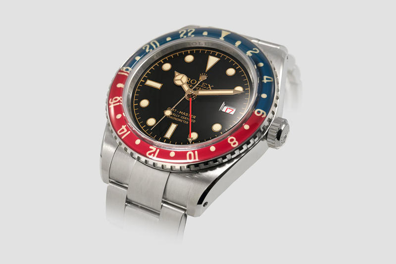 Tempus Machina 711Z Rolex GMT Master Recreation Original Watch Bakelite Bezel