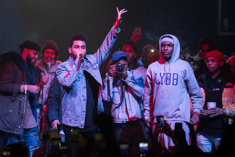 The Weeknd A$AP Rocky Young Thug New Music Preview