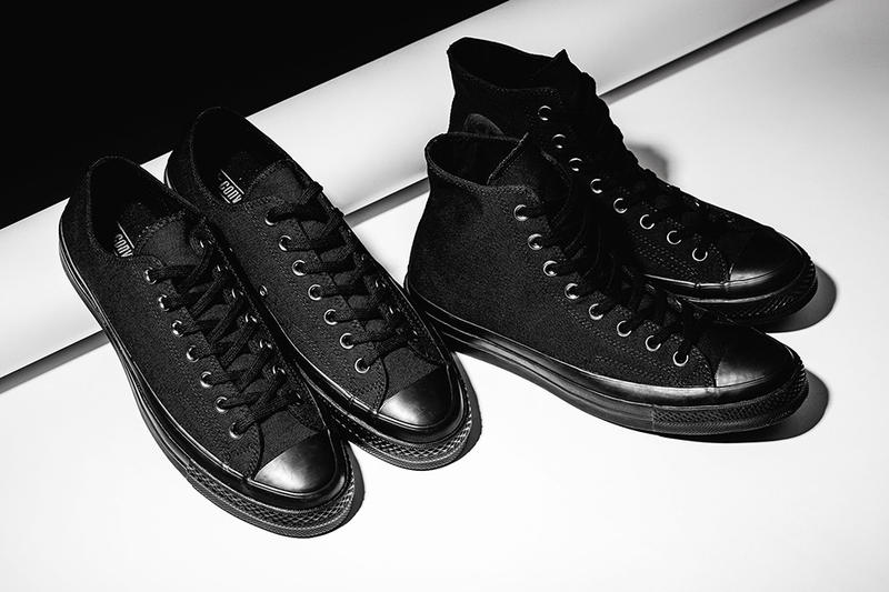 """Triple Black"" Visits the Converse Chuck Taylor All Star '70"